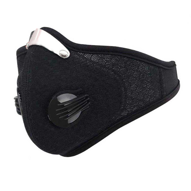 Activated Carbon Training Mask Cycling Face Masks Men Women Filter Face Carbon Bicycle Bike Mascarilla Polvo Masks 3