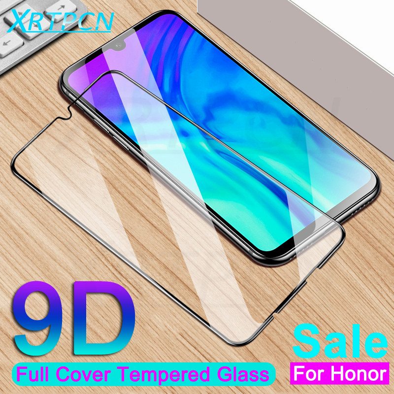 9D Tempered Glass On The For Huawei Honor 10 20 Lite 20i 10i 9i V10 V20 Honor 8X 8C 8A 8S Screen Protector Protection Glass Film