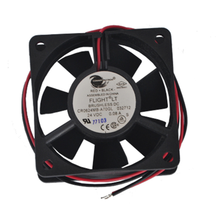 ROTRON COMROTON CR0624MB-A70GL 6025 24V Axial Flow Ball Cooling Fan
