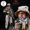 ألعاب صغيرة تايمز M005 1/6 البحرية الأمريكية معركة عباس غار ذكر الجندي مجموعات شخصيات الحركة