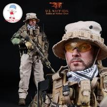 Mini Times Speelgoed M005 1/6 US Navy Seal Battle van Abbas GHar Mannelijke Soldaat Action Figure Collecties