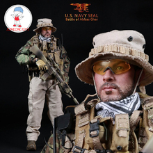 Mini Times Toys M005 1/6 US Navy Seal Battle of Abbas GHar Male Soldier Action Figure Collections
