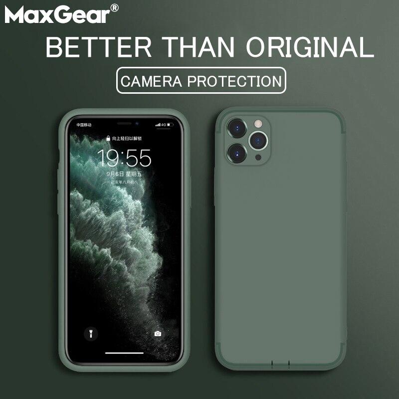 פשוט מט מקרי טלפון עבור iPhone 11 פרו XS MAX XR X רך Souple TPU חזרה כיסוי עבור iPhone 8 7 6 S 6 S בתוספת אולטרה דק סיליקון|כיסויים מותאמים|   - AliExpress