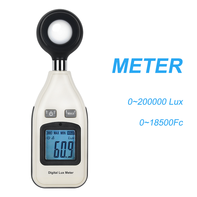 GM1010 Luminance Meter Spectrophotometer Luminometer Digital Backlight 0 ~ 200000 Lux Luminometer Luminometer Lux / FC LM Tester