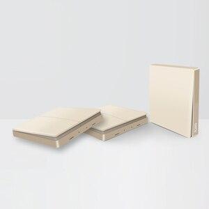 Image 2 - הכי חדש מקורי זהב גרסה Aqara מתג חכם אור שלט רחוק ZigBee אלחוטי קיר מתג עבור Mijia Mi בית APP
