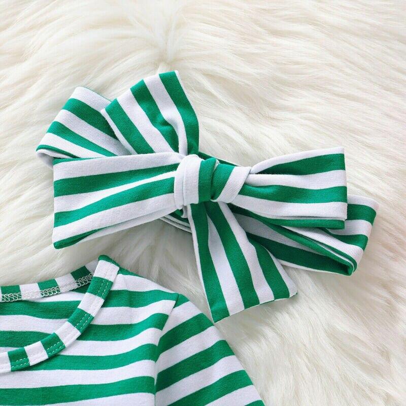 2Pcs Toddler Baby Kid Girl St.Patrick/'s Day Clothes Party Princess Tutu Dress US