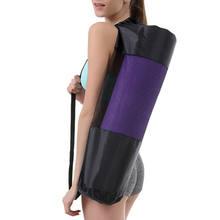 Taşınabilir spor salonu Fitness Yoga matı battaniye taşıma çantası Oxford kumaş omuzdan askili çanta