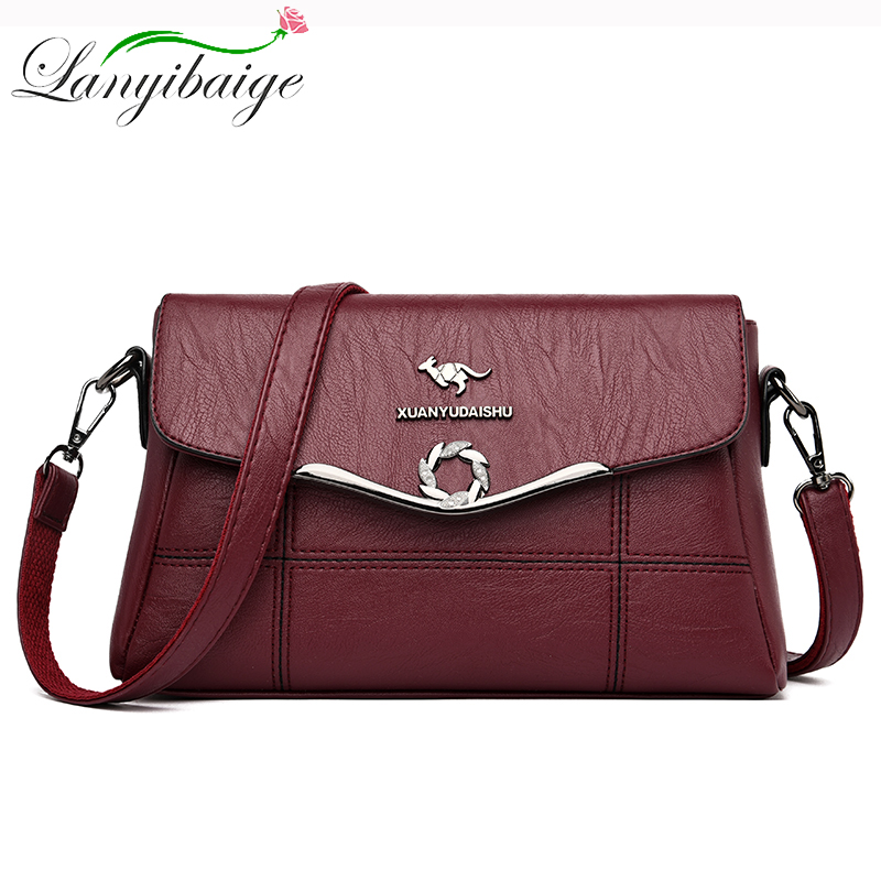 Luxury Handbags Women Bags Designer Hot Leather Handbags High Quality Crossbody Bags For Women Shoulder Messenger Bag Sac A Main