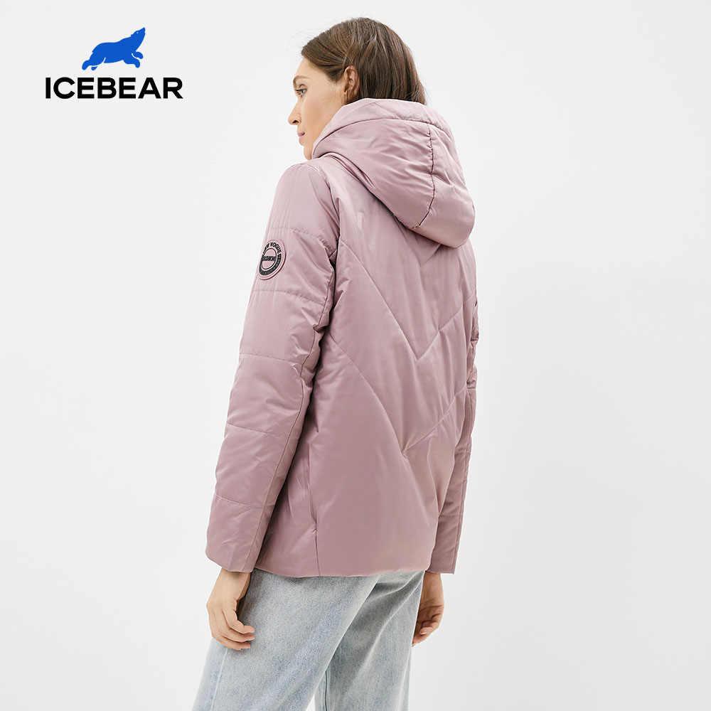 ICEbear 2020 새로운 여성 자켓 여성 봄 코트 패션 캐주얼 여성 의류 브랜드 Praka GWC20061I