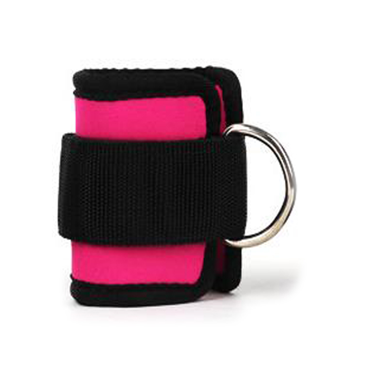 1PC Legs Strength Training Fitness Foot Ring Ankle Buckle Ankle Strap Elastic Band Fitness Resistance Band Pull Rope Accessories