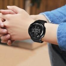 цены Men Digital Watches Sports Waterproof LED Military Watch 2019 Luxury Male Clock Casual Electronics Wrist Watches reloj hombre