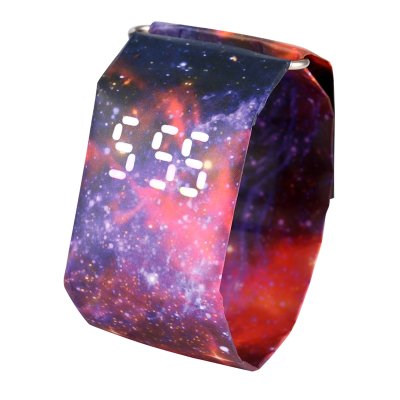 2020 Trendy DIGITAL LED Watch Paper Water/Tear Resistant Watch Perfect Gift 10 Variants 16