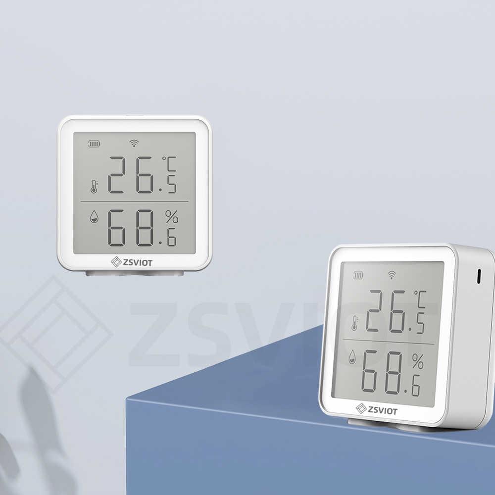 Tuya Wifi 2 4g Termometro Display Lcd Sensore Smart Home Temperatura Esterna Interna Umidita Igrometro Controllo App Digitale Automazione Degli Edifici Aliexpress Termometri istantanei, termometri doppia sonda, termometri wifi e bluetooth. aliexpress