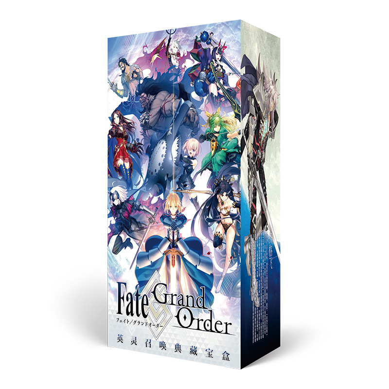 Anime Lucky Bag Long Gift Box Fate Grand Order Fatego Collection Box Toy Include Postcard Bottle Photo Frame Role Cards Gift