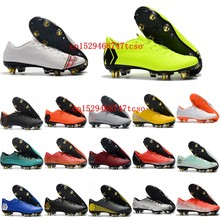 2020 New mens soccer shoes SUperFlys SG soccer cleats leather football boots Tacos de futbol size 39-45(China)