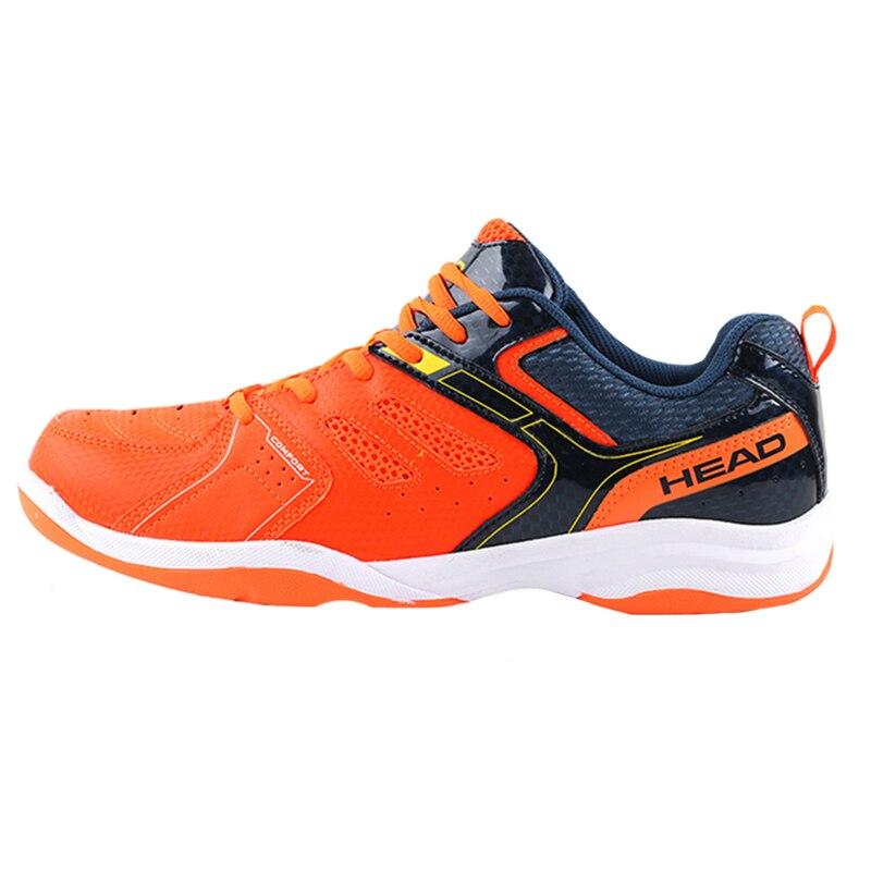 Мужская дышащая теннисная обувь Orange HEAD, защита лодыжки для тренировок по теннису, ограниченная серия