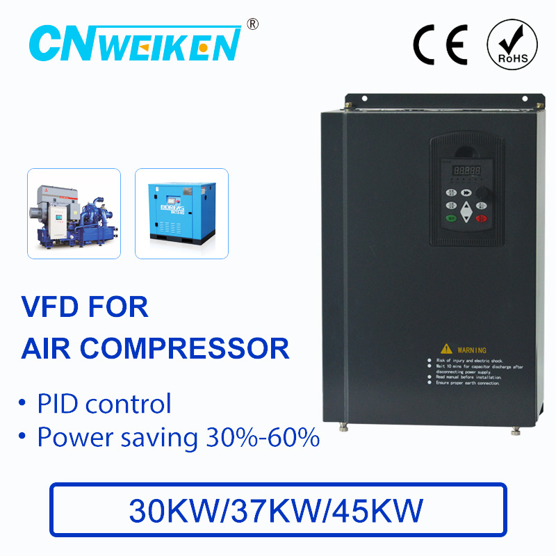 Air compressor supply controller with constant pressure for  converter 380V 30kw/37kw/45kw ac motor speed controller