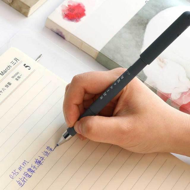 26Pcs/Lot Cute Animals Erasable Pen Refill Set Washable Handle 0.35mm Blue ink Erasable Rods Ballpoint pen for School Stationery 5
