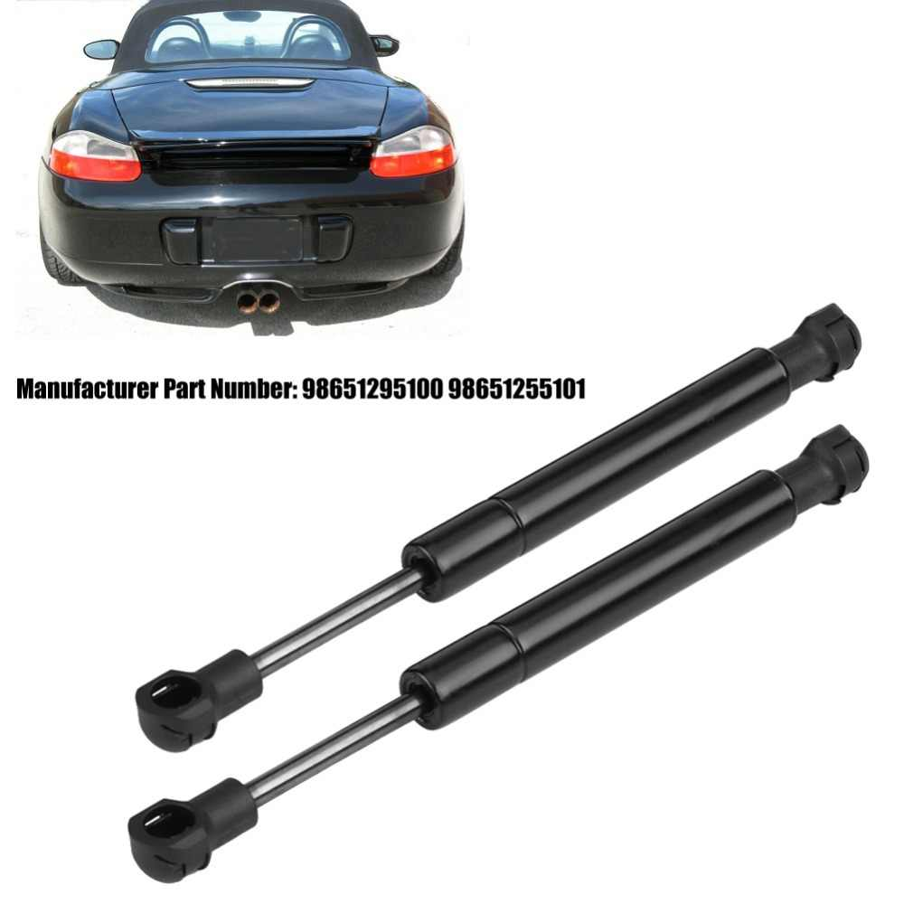 Prop Arm Rod Damper for Porsche Boxster 1997-2004 2Pcs Trunk Lip Gas Charged Lift Supports Shock Struts