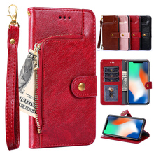For Onplus 7T 7 Pro 6 6T 5 5T 3 T 2 cover wallet Top quality PU flip card slots leather back one plus 3T case