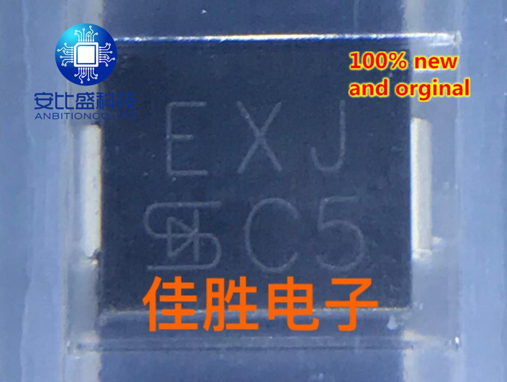 30pcs 100% New And Orginal 1.5SMC39CA 39V Two-way TVS Protection Tube DO214AB Silk Screen EXJ    In Stock