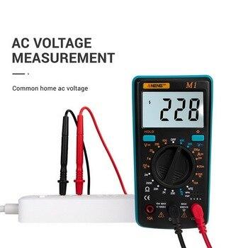 A830L Digital Multimeter Portable Multimeters Handheld Tester Intelligent Digital Multimetro With Test Lead Large LCD Display