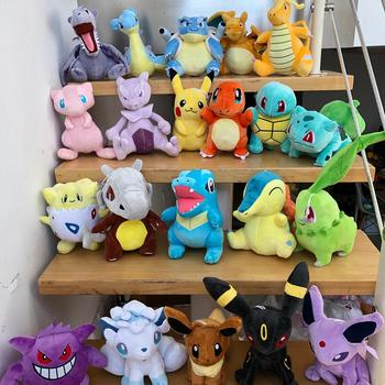 41 Style Pokemoned plush doll Pikachued stuffed toy Charmander Squirtle Bulbasaur Jigglypuff Eevee Snorlax Lapras kids gift 2