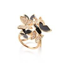 Gariton Fashion Butterfly Tricyclic Scarf Buckle Brooch 2019 Womens Stewardess Rhinestone Jewelry