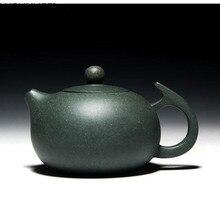 цена на Retro tea set purple sand pot fair purple sand flower pot tea set decoration pot Authentic full handmade Chinese Tea set teapot