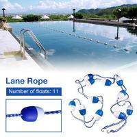 5M Durable Swimming Pool Waterways Safety Divider Rope Swimming Pool Accessories Floating Rope Security Line Pool Supplies Swim4