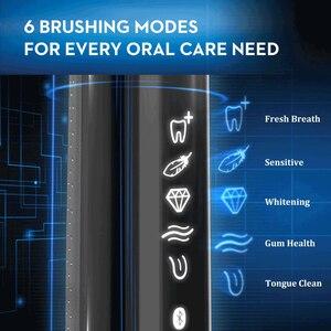 Image 3 - Oral B 9000 ไฟฟ้าแปรงสีฟันเทคโนโลยีบลูทูธตรวจจับตำแหน่ง 6 โหมด 12 สีSmartRing Superiorแปรงทำความสะอาดฟัน
