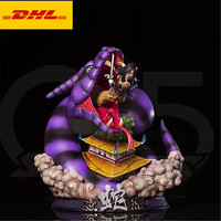 14 Anime G5 NARUTO Orochimaru Disastrous Wind Sarutobi Hiruzen Disciple Original Version GK Action Figure Toy BOX 36CM X504