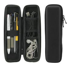 Black EVA Hard Shell Stylus Pen Pencil Case Holder Protective Carrying Box Bag Storage Container for Pen Ballpoint Pen Stylus Pe