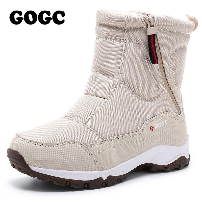 GOGC Winter Boots Shoes Comfortable Women's G9906