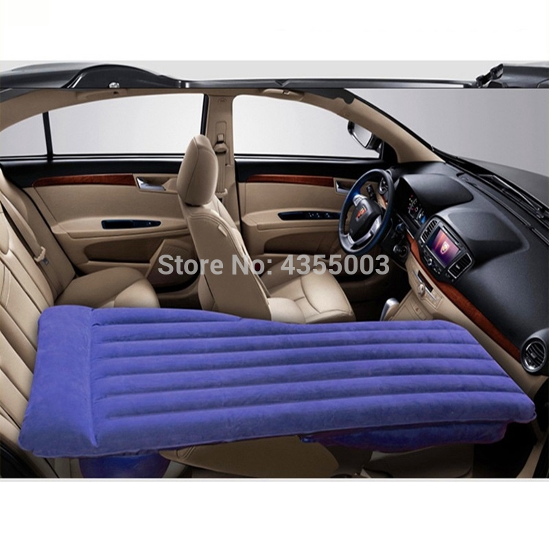 Car Travel Bed Inflatable Rest bed front row car air mattress self-driving tour sleeping pad trunk sedan suv repose Cushion Ne'w image