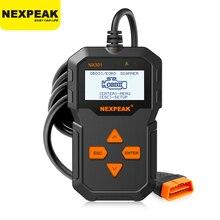 NXPEAK NX301 OBD2 Automotive Scanner Für Auto Code Reader Scanner Werkzeuge Auto Auto Diagnose Werkzeug Russische Sprache PK Elm327