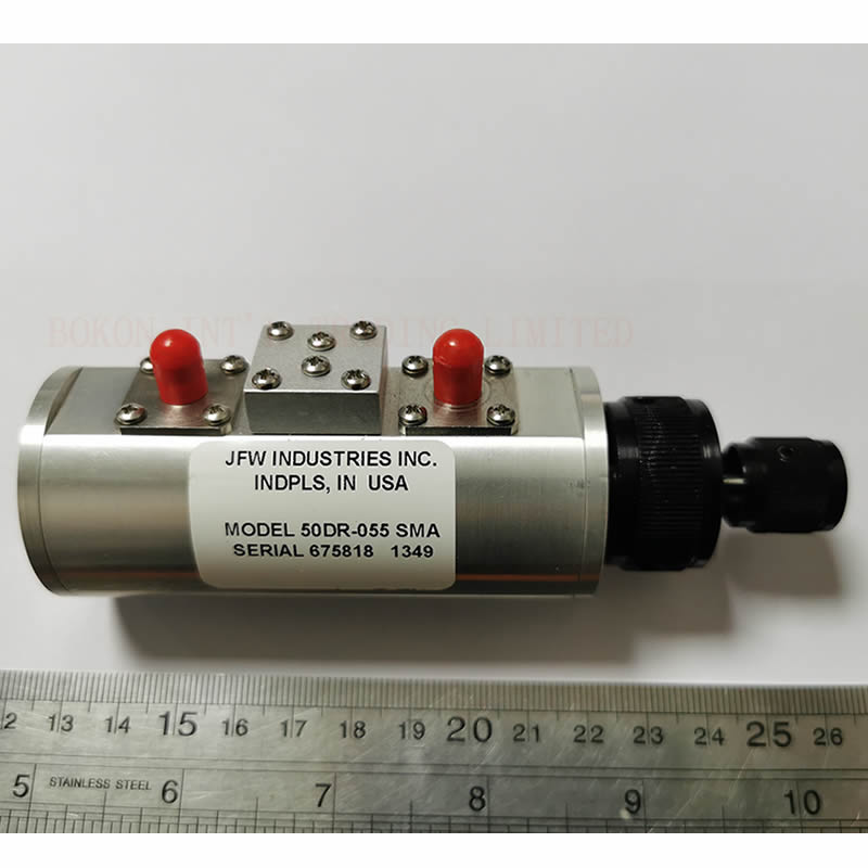 2watt 0-30dB Manual Attenuator DC-2000Mhz 50 Ohms Dual Rotary 1dB Steps SMA Female 50DR-055 DUAL ROTARY ATTENUATOR 0 To 30dB