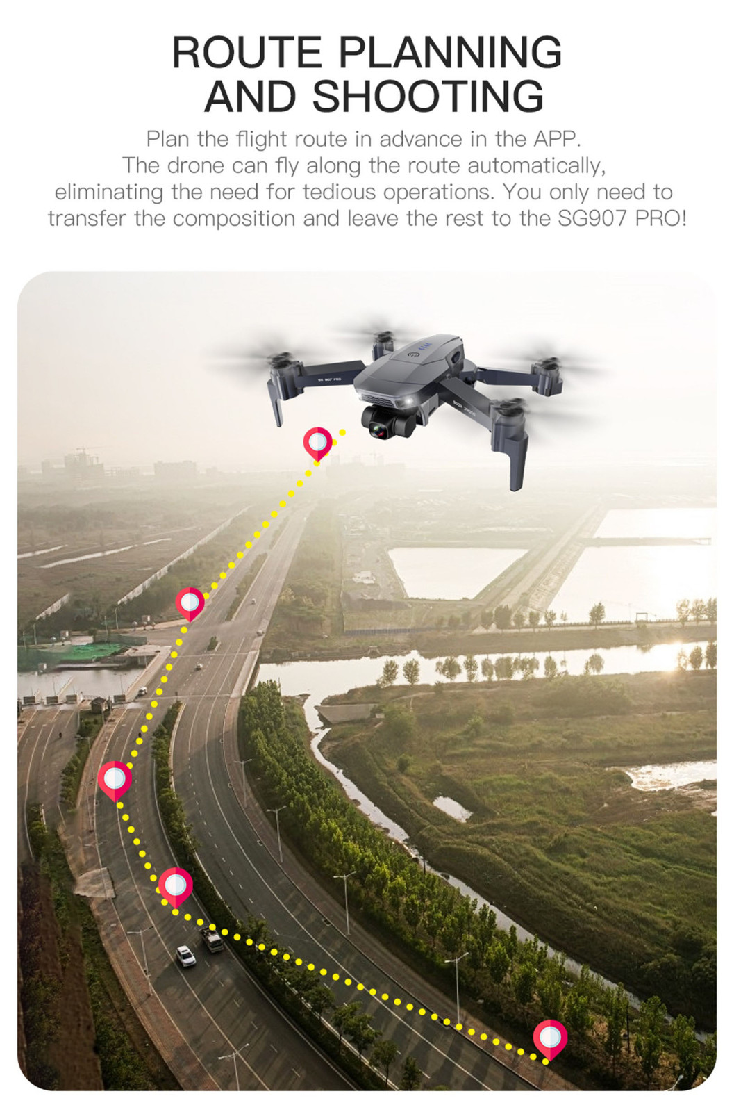 H274cb2a898384b7aa8d642825a956090I - 2020 New Sg907 Pro 5g Wifi Drone 2-axis Gimbal 4k Camera Wifi Gps Rc Drone Toy Rc Four-axis Professional Folding Camera Drones