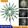 Unique And Magical Metal Windmill Outdoor Metal Windmill Wind Spinner Wind Catcher Kinetic Wind Sculpture Yard Lawn Garden Decor