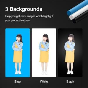 Image 5 - 140*120*100ซม.LEDแบบพกพาสตูดิโอกล่องนุ่มไฟLEDสตูดิโอถ่ายภาพแสงเต็นท์สำหรับรถเข็นกรณีเด็กผ้า