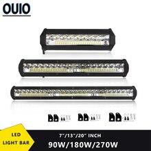 Светодиодный рабочий светильник панели 90 Вт 180w 270w 12v 24v