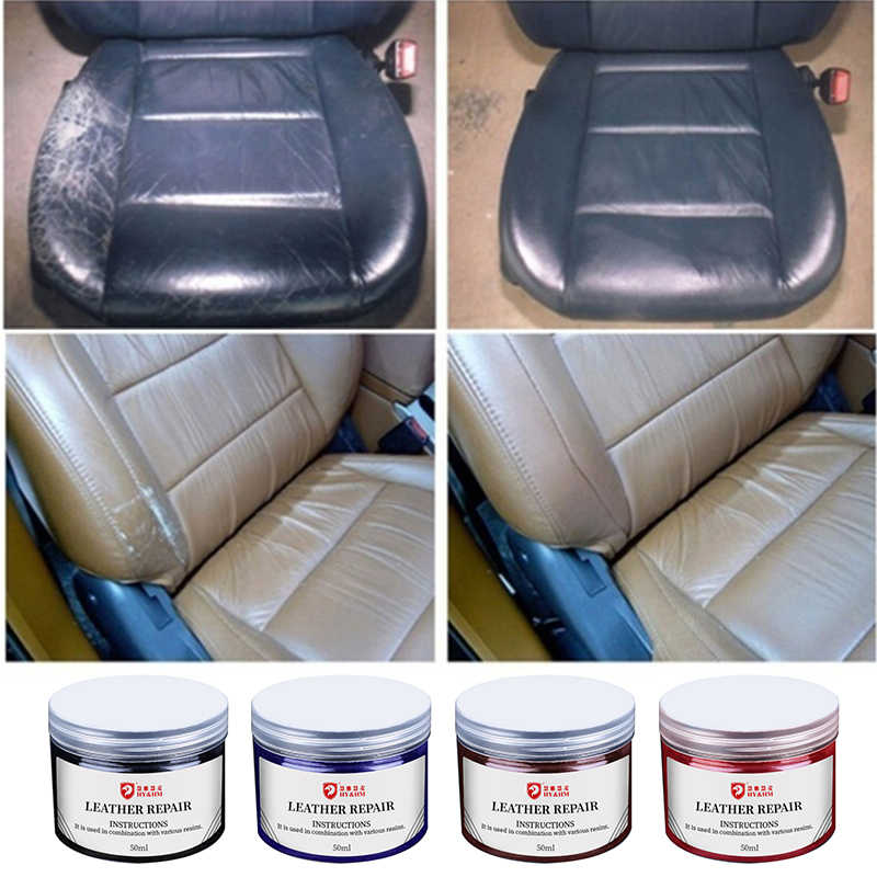 Repairing Kit Leather Restore Cream Vinyl Auto Car Seat Sofa Coats Holes Scratch
