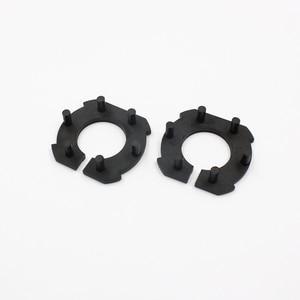 Image 5 - Rockeybright H7 Car headlight adapter for Mazda 3 LED H7 Bulb Holder Adapters socket base retaining clip for led headlight bulbs