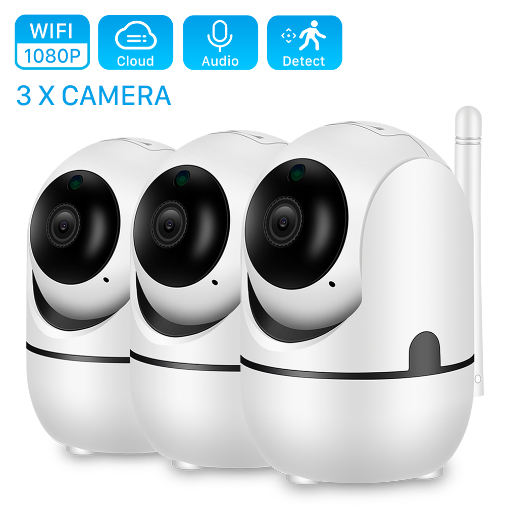 ANBIUX HD 1080P Cloud Wireless IP Camera Intelligent Auto Tracking Of Human Home Security Surveillance CCTV Network Wifi Camera