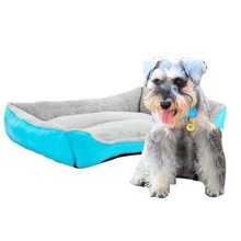 Dog Bed Accessories Paw Pet Sofa Beds Waterproof Bottom Soft Fleece Warm Cat House