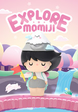 Figura específica personagem momiji explorar série abriu caixa cega