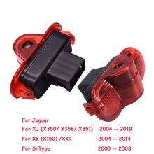 2X LED באדיבות המכונית אור Ghost צל לייזר מקרן מנורת רכב דלת בברכה אור עבור יגואר XJ 2004 2019 XK (X150) /XKR S סוג