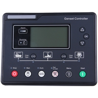 Hot Sale AMF Generator Set Controller LCD Automatic Start Genset Ats Control Box Terminal Charge Panel Alternator Tester