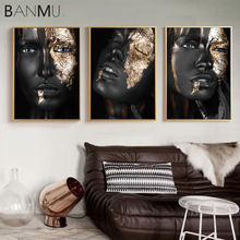 Banmu лидер продаж современная фигурка боди арт холст плакат