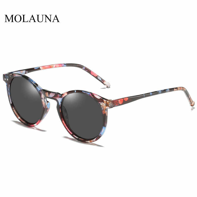 2020 מקוטב משקפי שמש גברים נשים מותג מעצב רטרו עגול משקפיים שמש בציר זכר נקבה משקפי UV400 Oculos Gafas דה סול